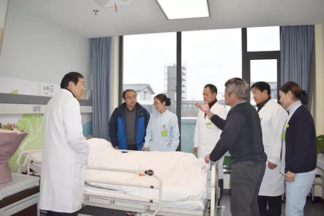 冬日里的温暖 南通和佳康复医院接收第一位住院病人,院长亲切慰问